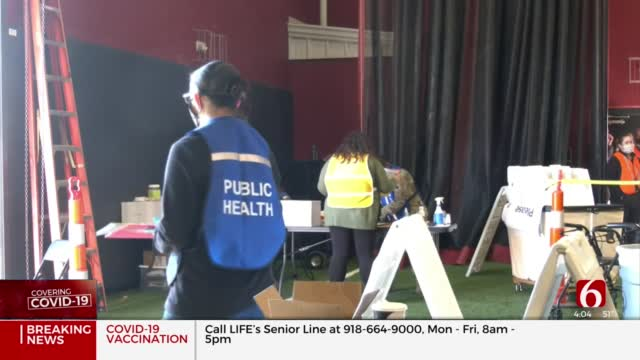 Tulsa Health Dept. Continues Administering COVID-19 Vaccines