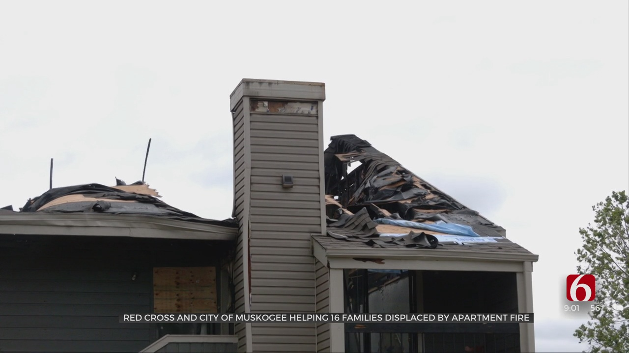 Red Cross, City Of Muskogee To Aid Families Displaced By Fire