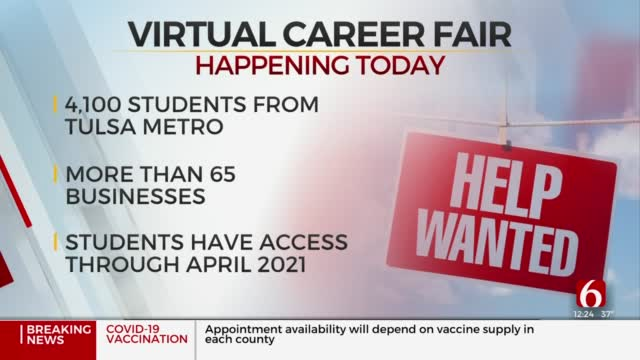 Thousands Of Oklahoma Middle Schoolers To Take Part In Virtual Career Fair