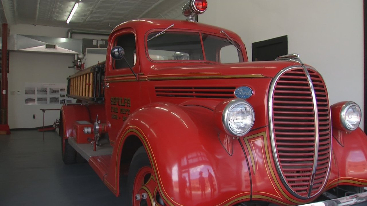 Wade's RV On the Road with Jim Jefferies: Sapulpa Fire Museum