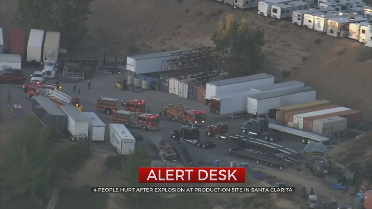 4 Hurt In Explosion At Los Angeles-Area Industrial Park