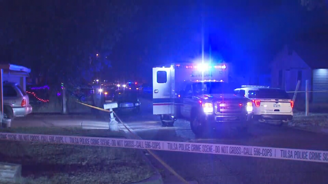 Police Investigate Deadly Overnight Shooting At Tulsa Home