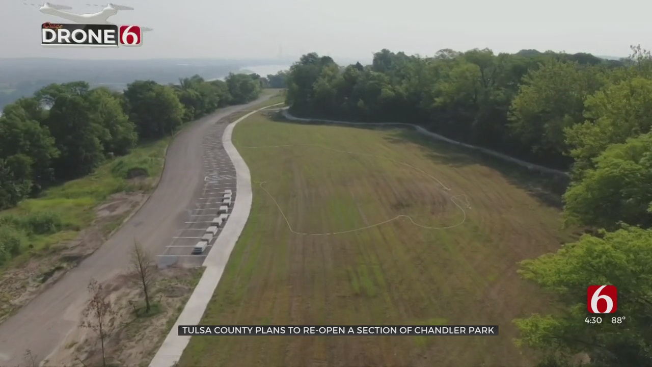 Tulsa County Working To Reopen Access To Chandler Park Trails Closed For 14 Years