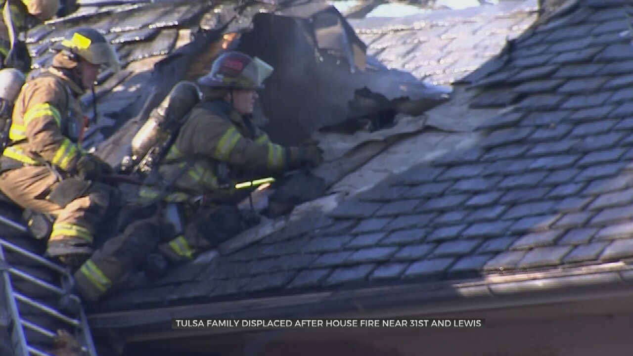Tulsa Family Displaced By Early Morning House Fire