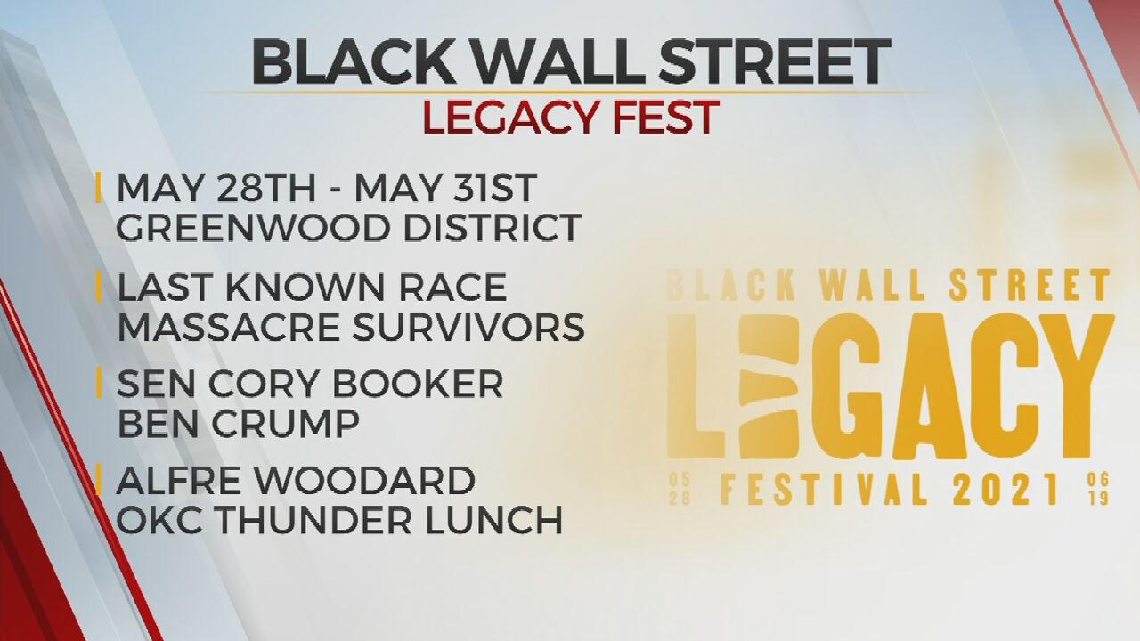 'Black Wall Street Legacy Fest' To Commemorate 100 Years Since Tulsa Race Massacre