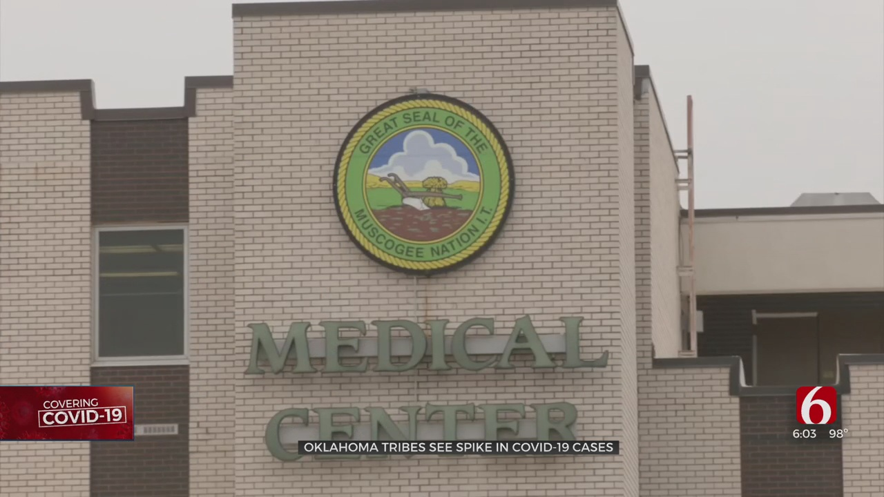 Oklahoma Tribes See Spike In COVID-19 Cases