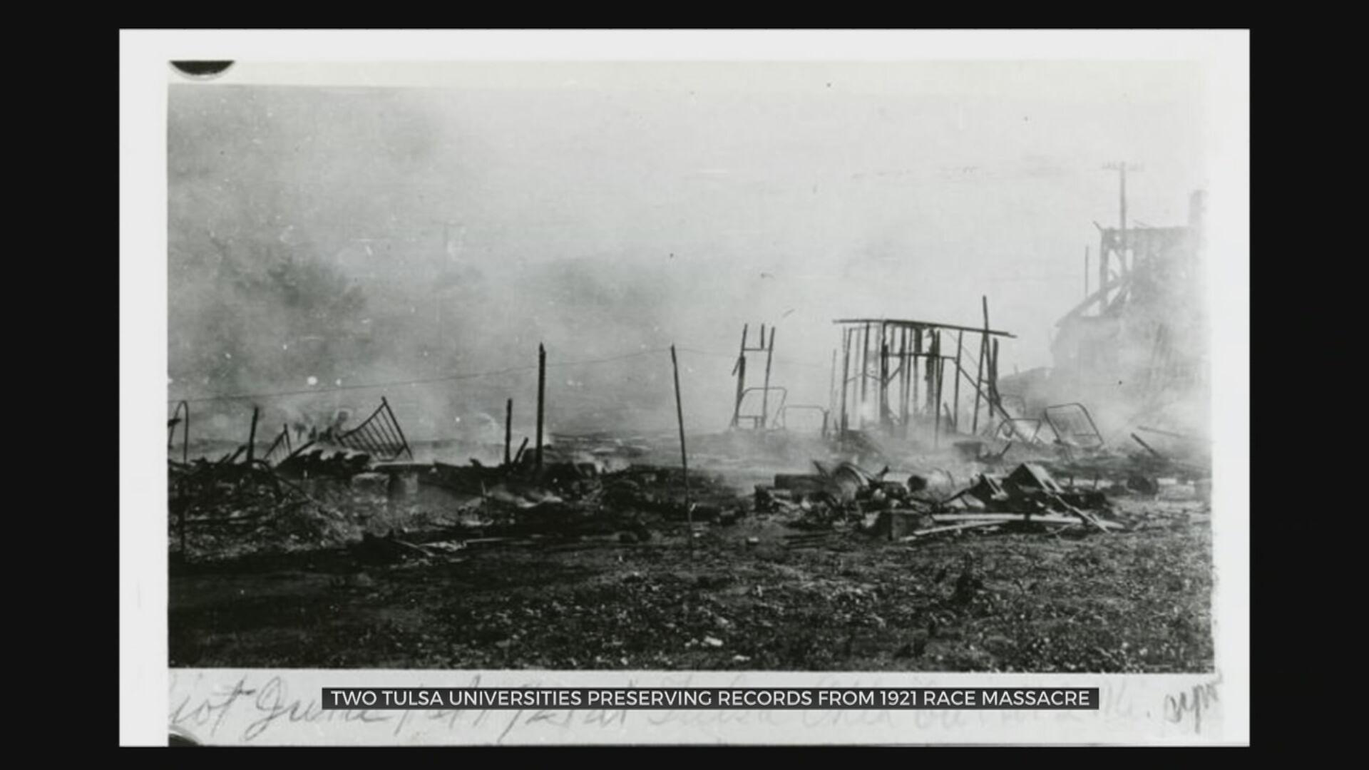 'Bring It To Light': University Archives Hold Story Of Tulsa Race Massacre