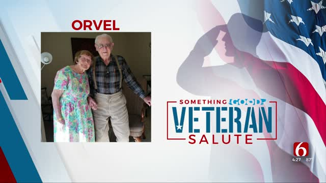 Something Good: Veteran Of The Day Orvel Sherrill