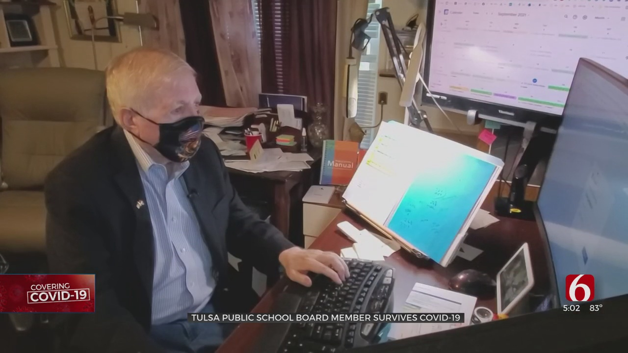 Tulsa Public Schools Board Member Faces Long Road To Recovery From COVID-19