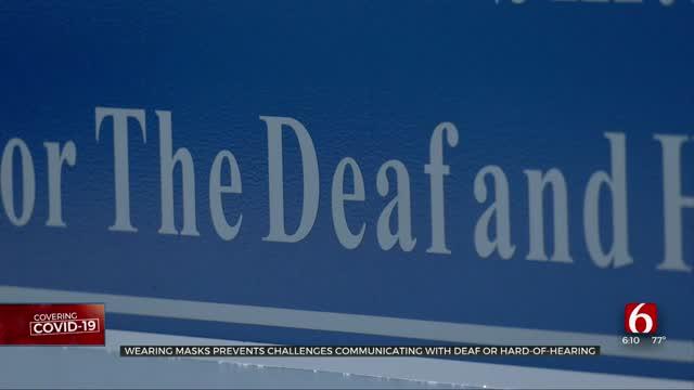 Oklahoma Deaf Community Impacted By Coronavirus Pandemic