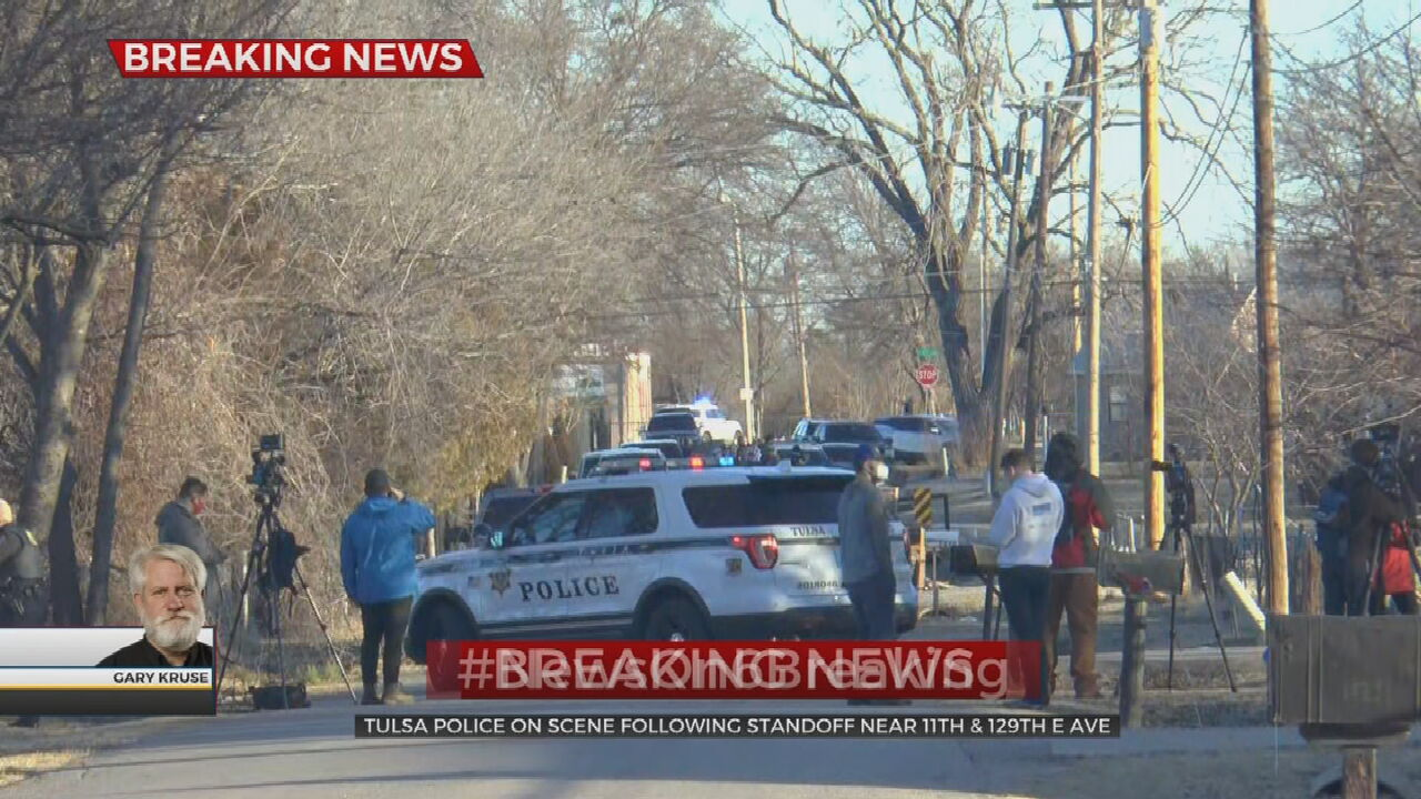 Tulsa Police Involved In Standoff Near 11th St, 129th East Ave