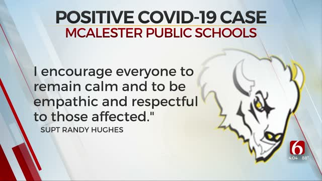 McAlester Public School Student Tests Positive For COVID-19