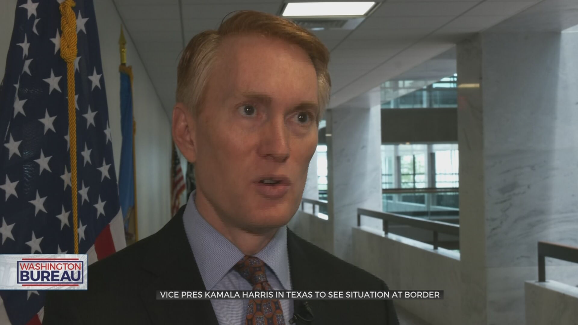 Sen. Lankford Hopes VP Harris' Trip To Texas Provides Accurate Context For Border Situation
