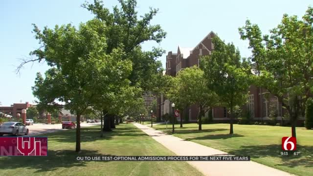 OU Adopts Test-Optional Admissions Policy For Next 5 Years