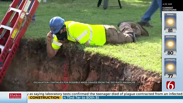 Crews Continue Searching Oaklawn Cemetery In Tulsa For Possible Mass Graves