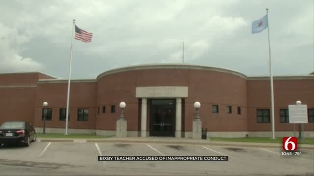 Bixby Teacher Accused Of Inappropriate Conduct