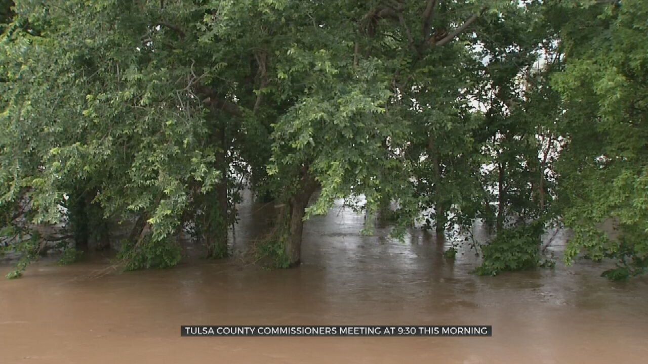 Tulsa County Commissioners To Discuss Funding For Improvements on Tulsa's Levee System