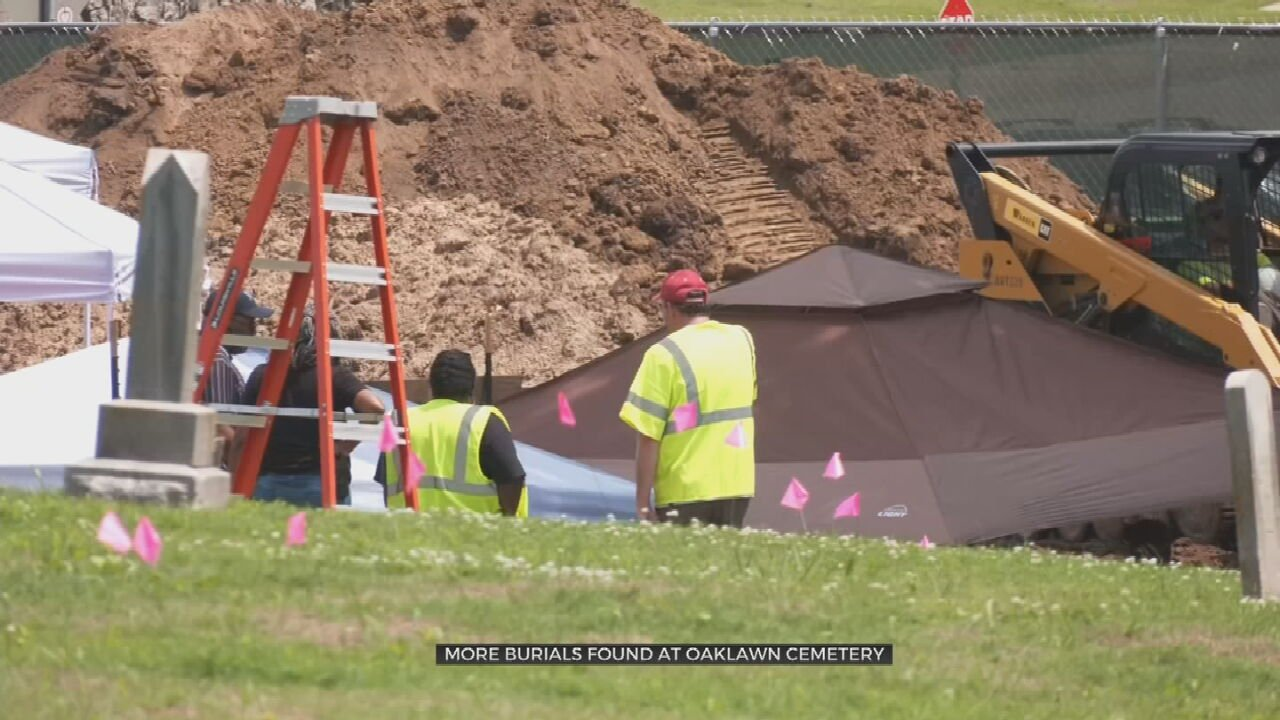 Archaeologists Find Coffins Under Headstones For 2 Known Massacre Victims, Say They Are Outside Of Oaklawn's Mass Grave