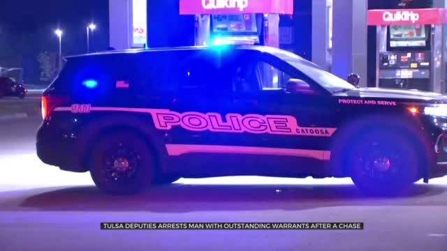 Inola Man In Custody After Leading Deputies On Overnight Chase