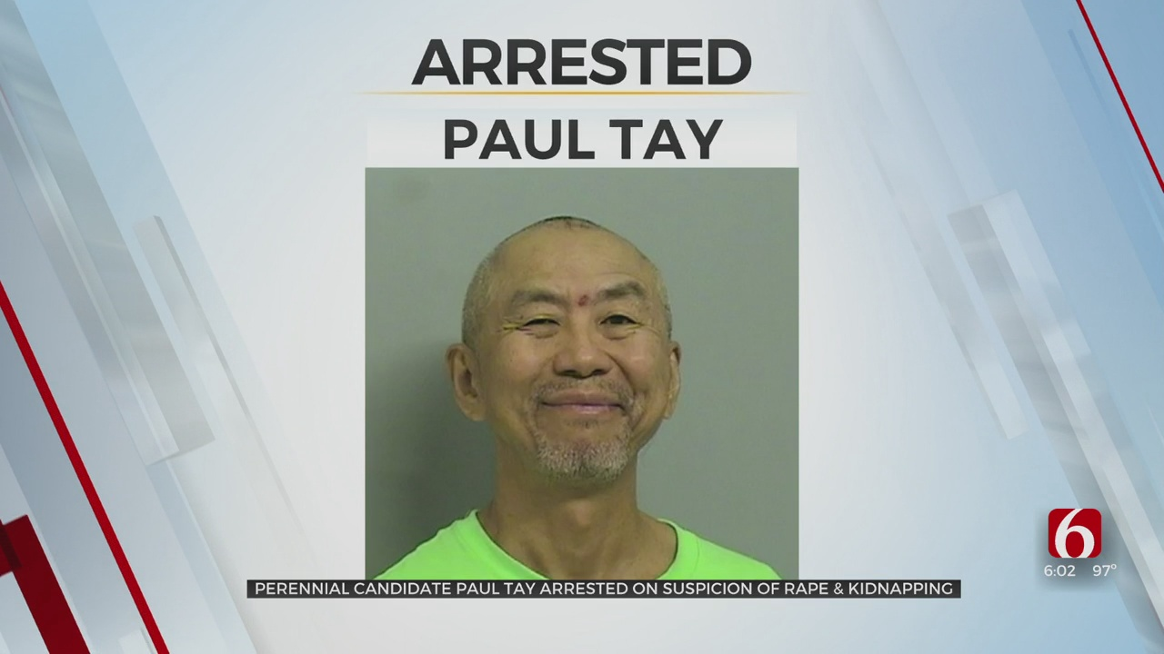 Gubernatorial Candidate Paul Tay Arrested On First-Degree Rape, Kidnapping Charges