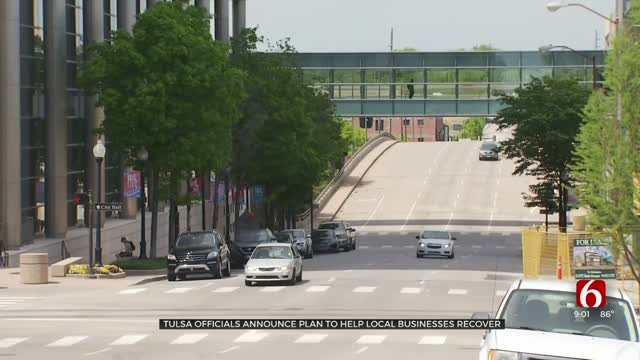 Tulsa Officials Announce Economic Recovery Plan For Local Businesses