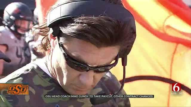 OSU Head Coach Mike Gundy To Take Paycut, Other Contract Changes