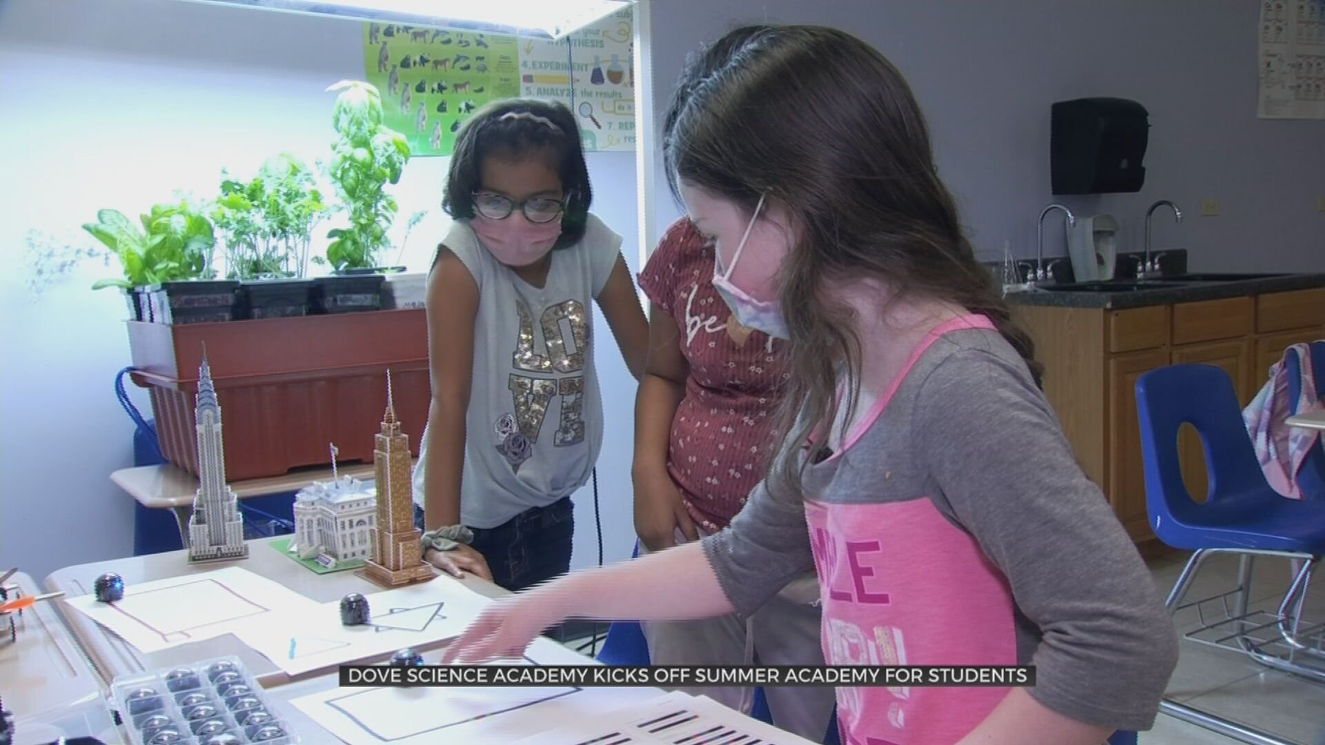 Dove Science Academy Kicks Off Summer Camp For Students