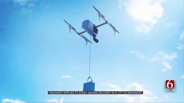 Walmart Looks To Start Using Drones For Order Delivery In Arkansas City