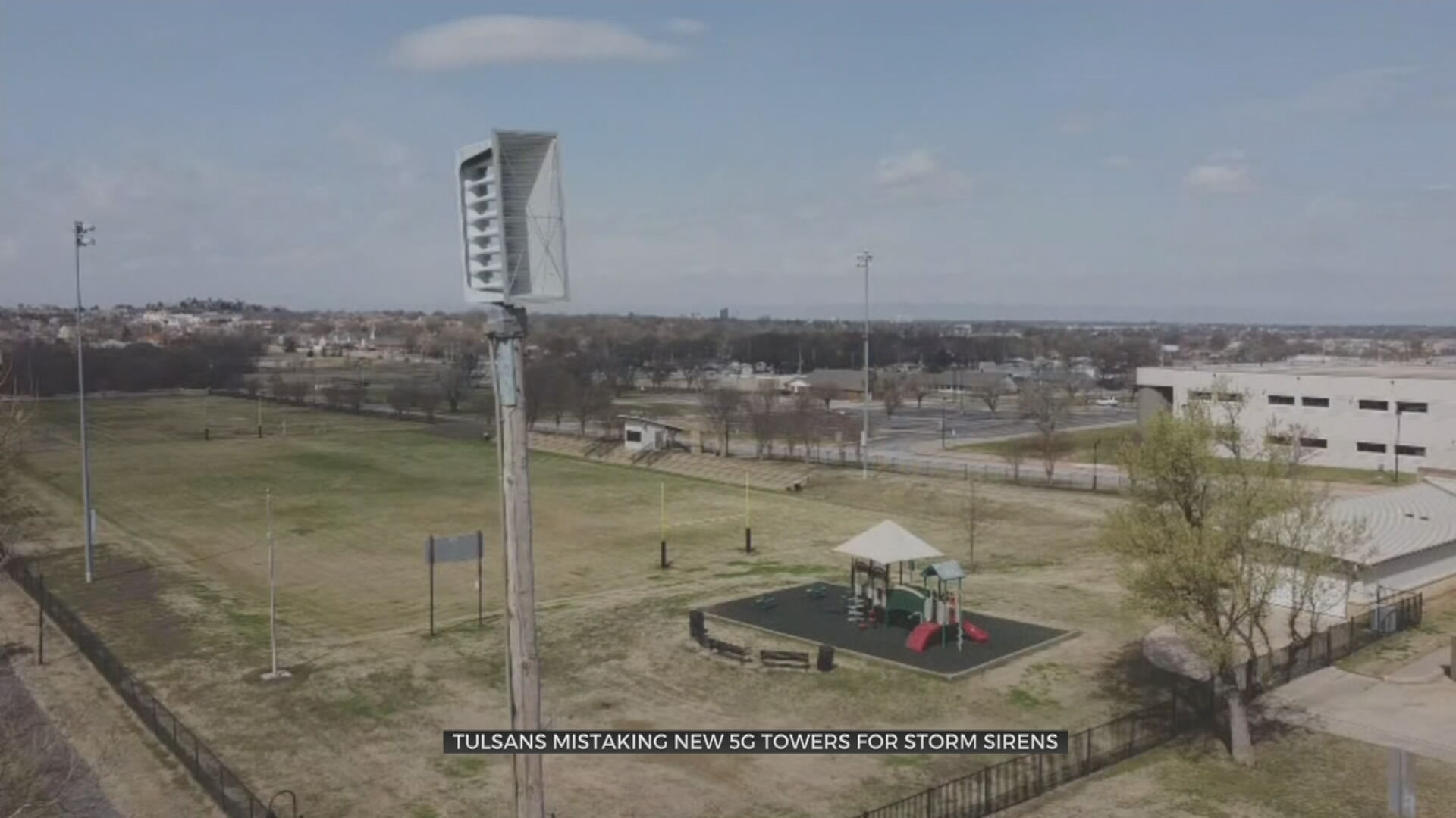 New 5G Cell Phone Towers Mistaken For Tulsa Storm Sirens