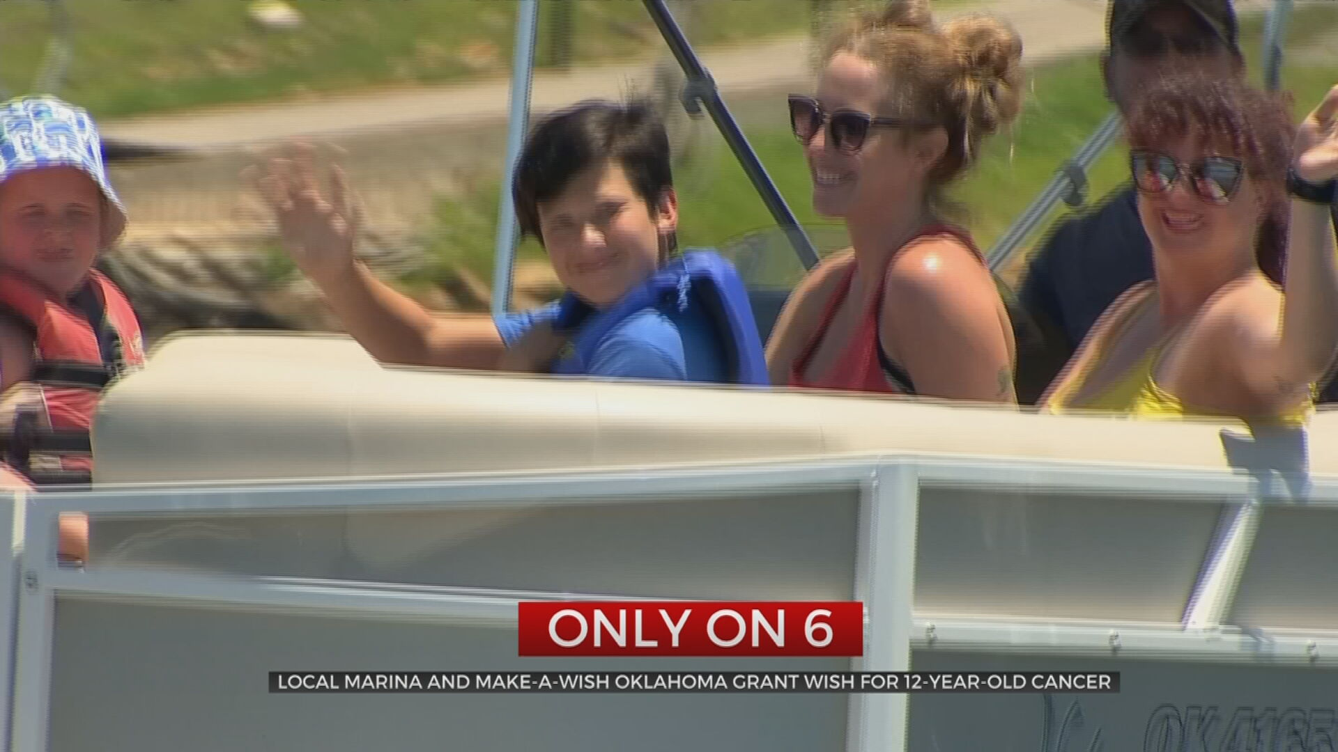 Local Marina, Make-A-Wish Oklahoma Grant Wish For Tulsa 12-Year-Old Cancer Patient