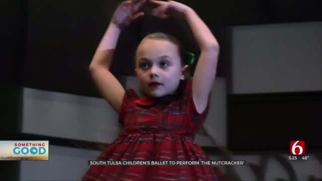 South Tulsa Children's Ballet Offers Space To Thrive As Dancer Perform Nutcracker