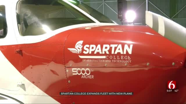 Spartan College Of Aeronautics & Technology Acquires New Plane For Training Fleet