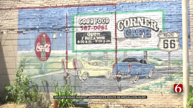 Mother Road Market Hides Medallions Along Route 66