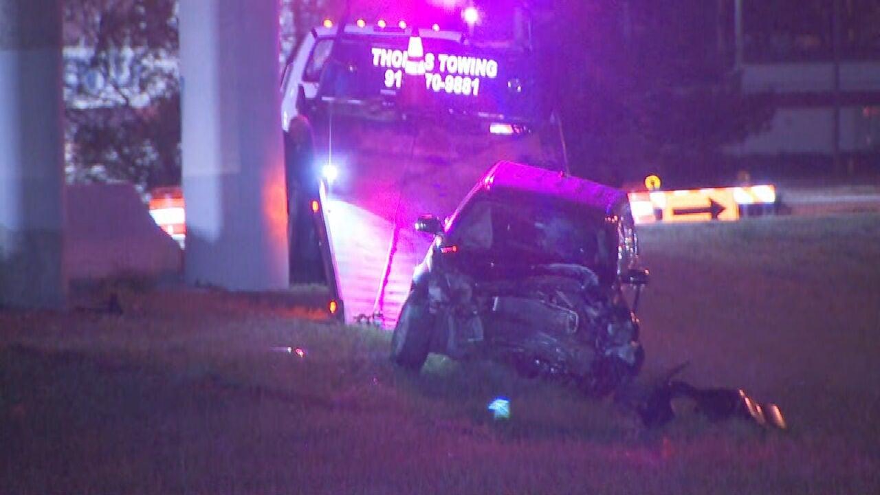 OHP Troopers Identify Driver Involved In Fatal Crash Near I-244, I-44 Interchange