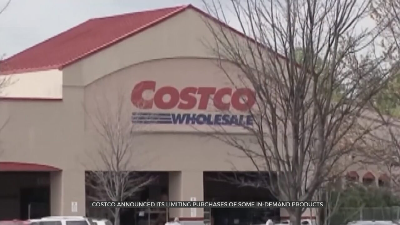 Costco Again Limits Purchases Of Toilet Paper, Bottled Water