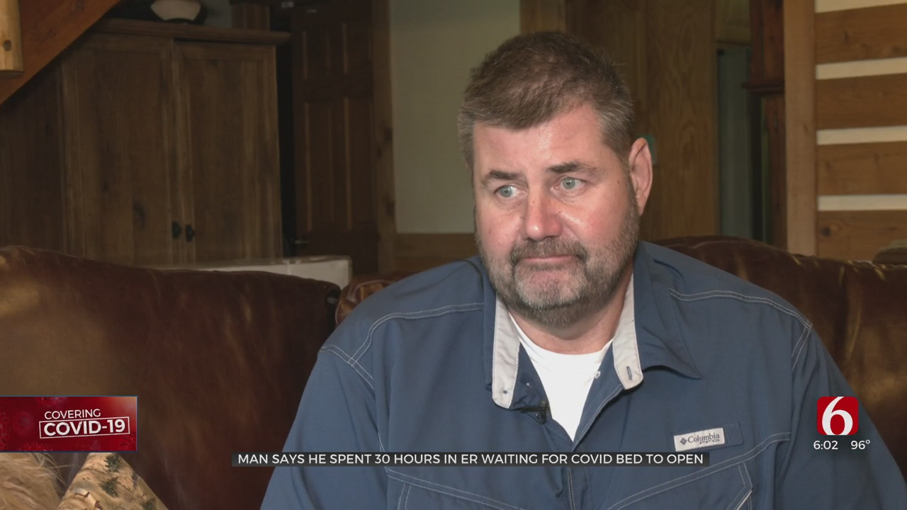 Fort Gibson Man Says He Spent 30 Hours In ER Waiting For COVID-19 Bed To Open