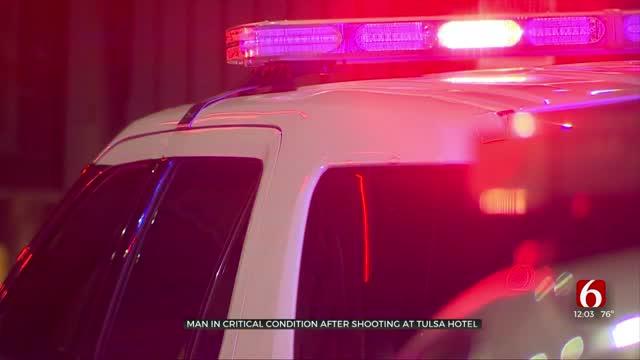 Man Shot In Head at Tulsa Motel, Police Say