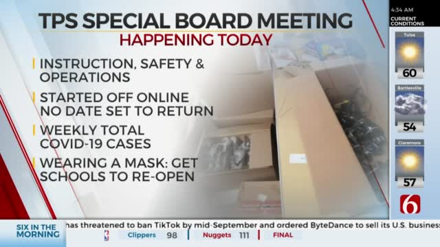 TPS Holding Special COVID-19 Board Meeting