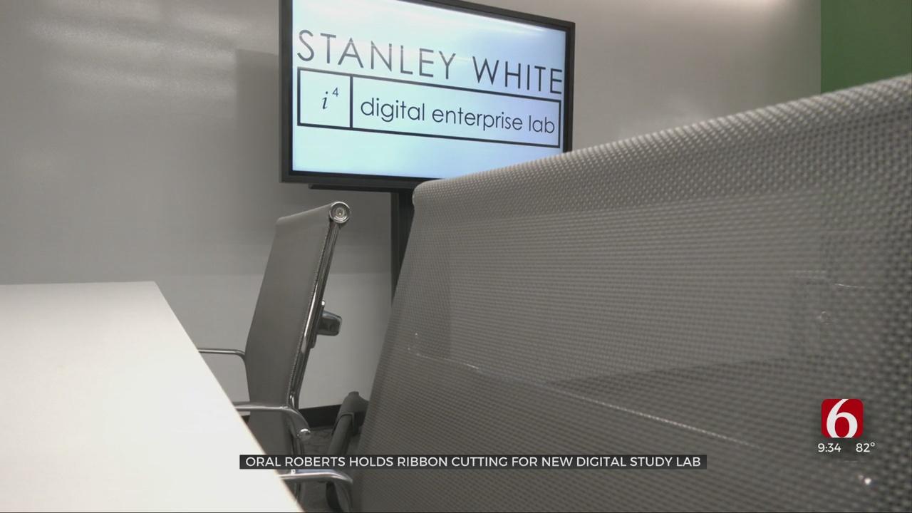 Ribbon-Cutting Ceremony Held For ORU's New Digital Enterprise Lab