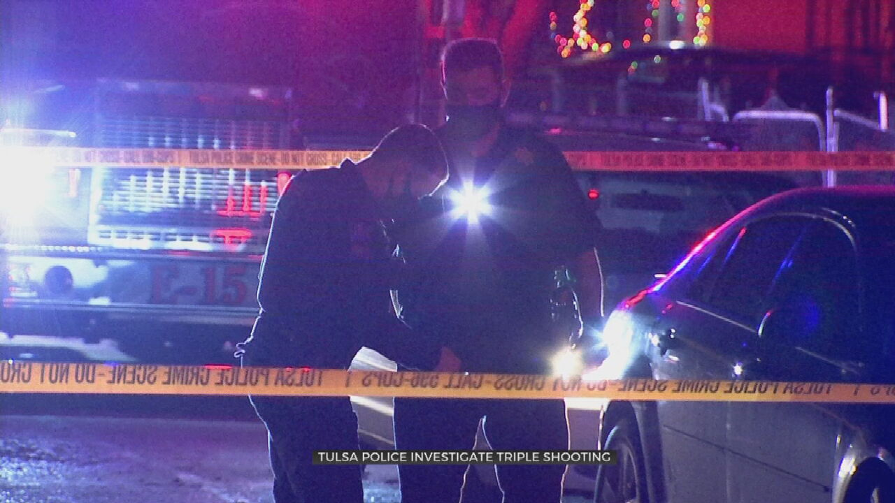 Tulsa Police Investigate After 3 People Injured In Shooting