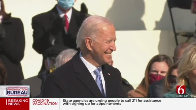 After Historic Inauguration Ceremony, President Biden Quick To Start Mission Of Unity
