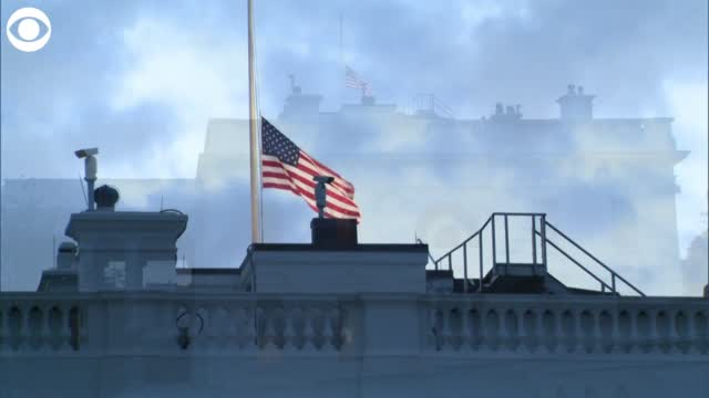 Watch: Flags At The White House, U.S. Capitol Fly At Half-Staff To Honor 9/11 Victims