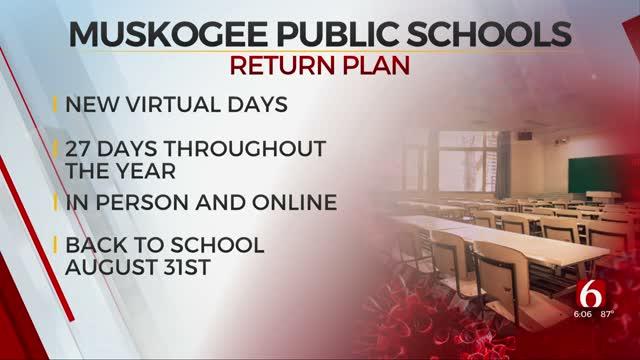 Muskogee Schools Announces Designated Virtual Days