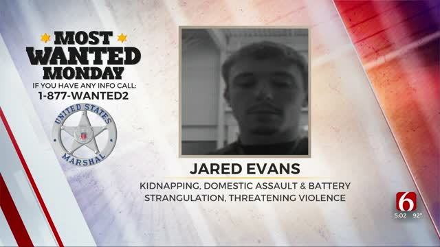 Most Wanted: US Marshals Searching For Kidnapping, Assault Suspect