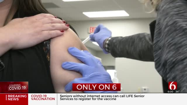 Muskogee Health Department's Newly Restored Facility Aids Vaccine Distribution