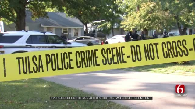 TPD: Suspect Still On Run After Shooting 2 People, Killing 1