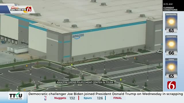 New Amazon Fulfillment Center Opens In Tulsa, Continues Hiring Events