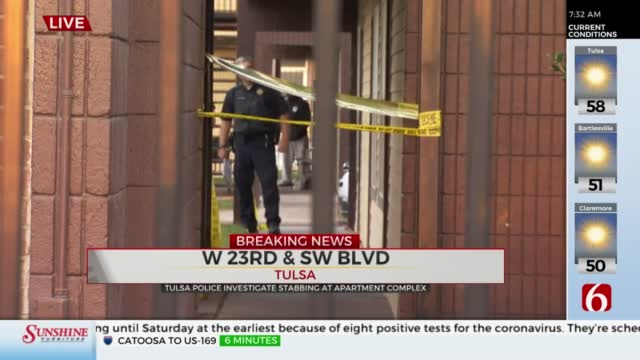 Breaking: Man Hospitalized After Apartment Stabbing