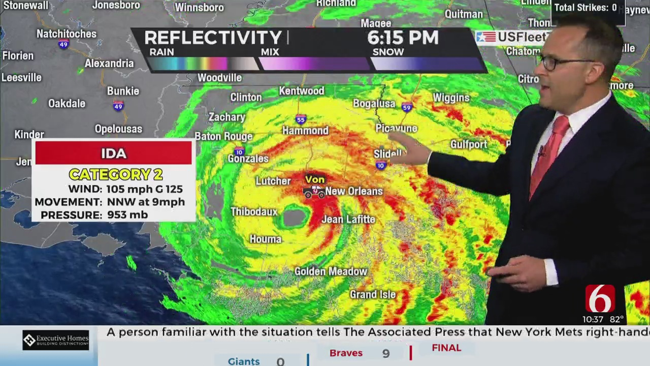 Meteorologist Justin Rudicel and Dusty Dvoracek Join The Blitz To Discuss The Status Of The Ou-Tulane Game