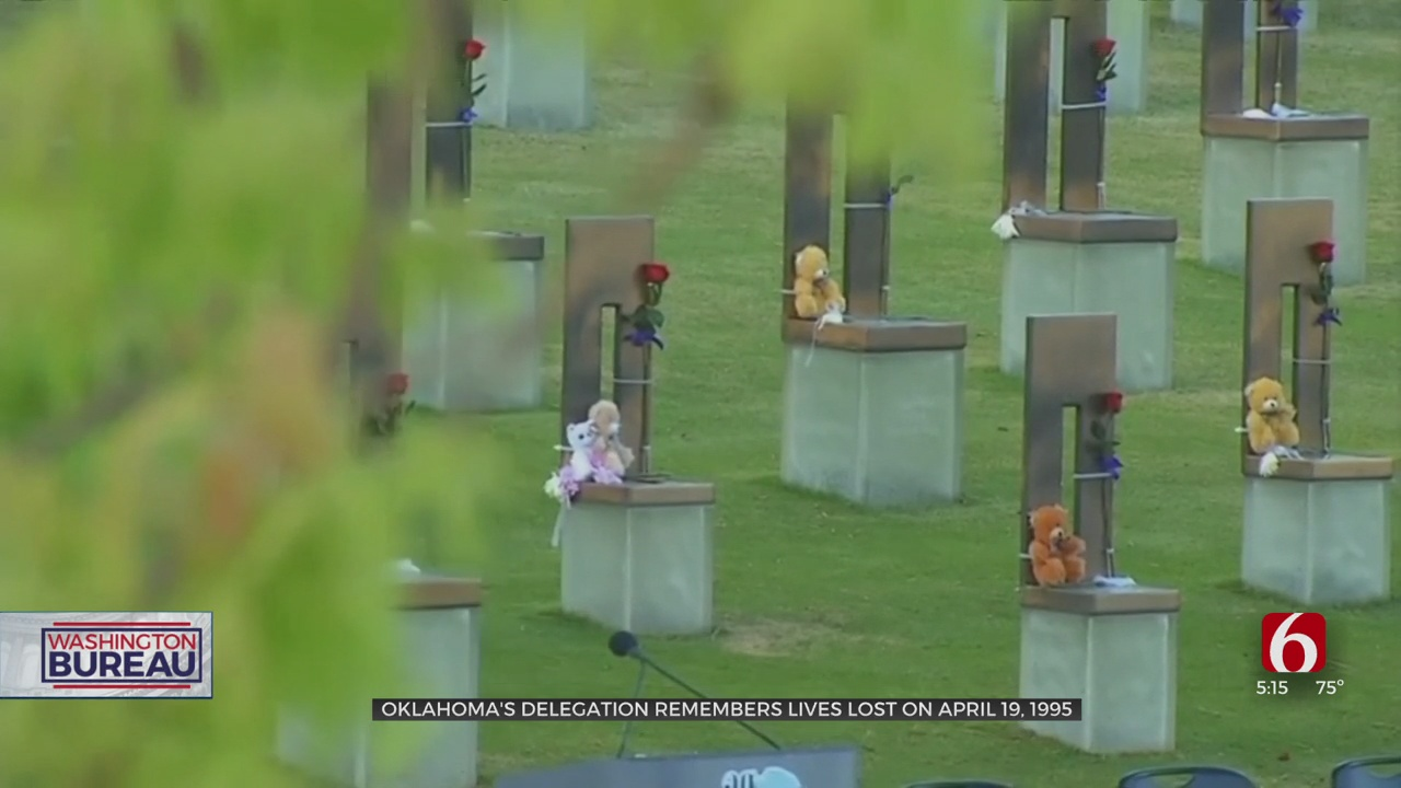 26 Years Later, Oklahoma's Delegation Remembers Lives Lost In OKC Bombing